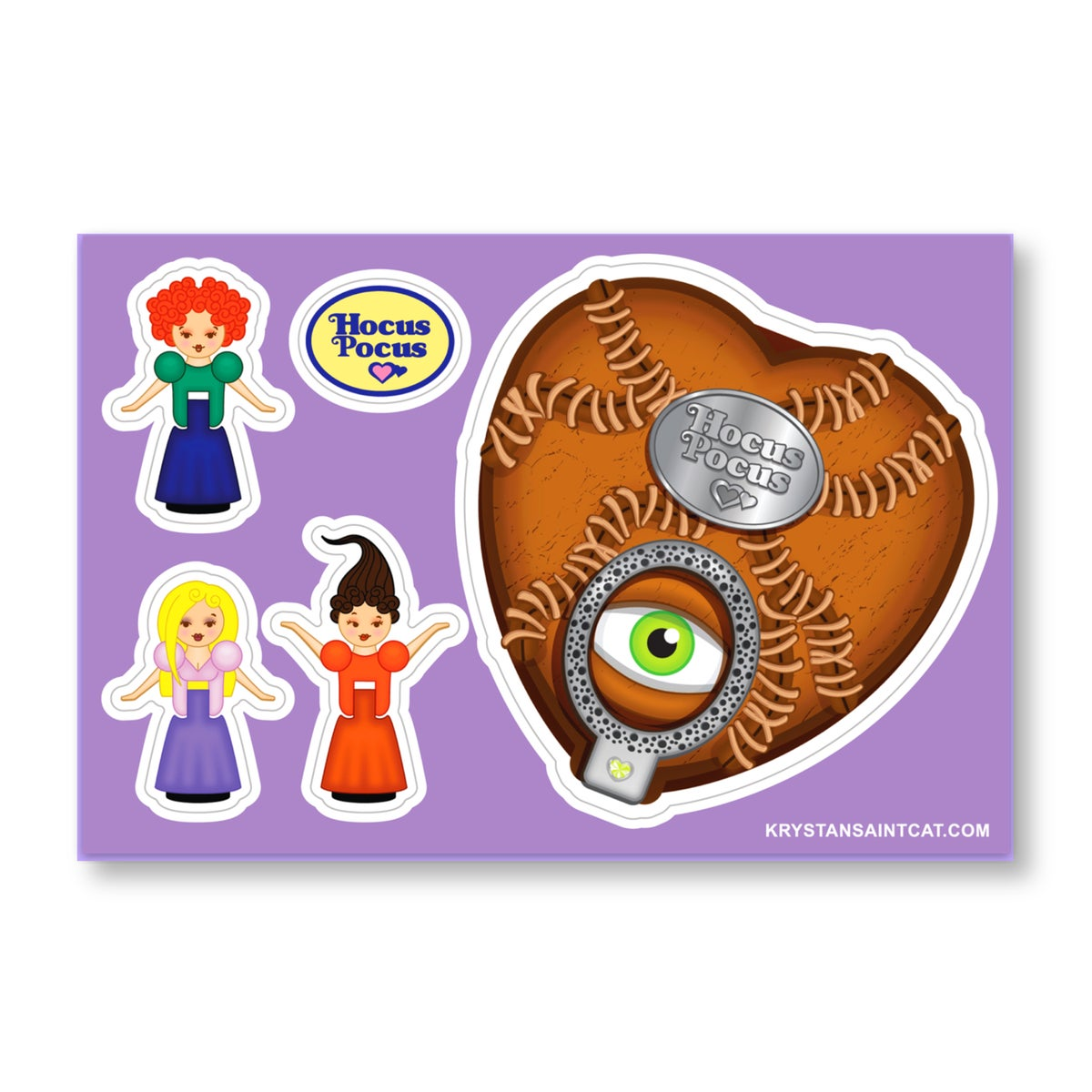 Image of Polly Pocus Stickers