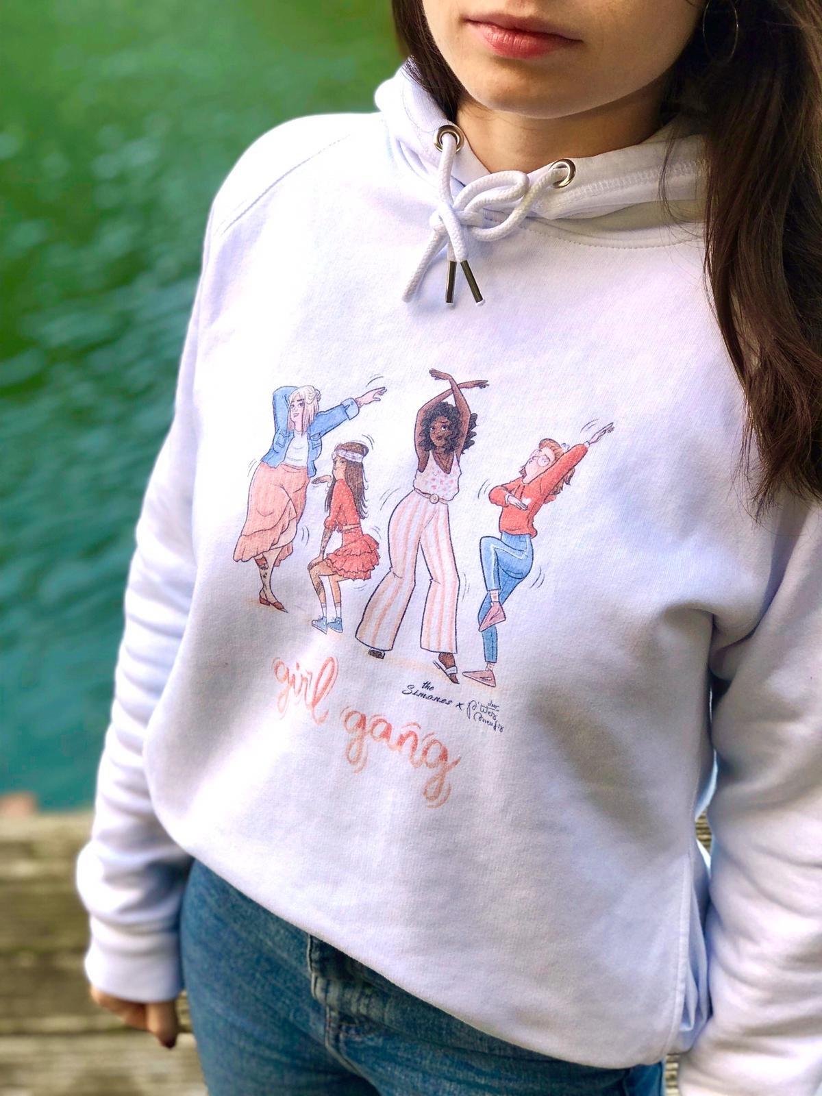 Image of SWEAT the Simones x Les P'tites Meufs - GIRL GANG