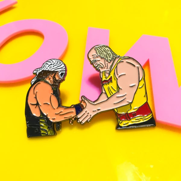 Image of MEGA POWERS pin
