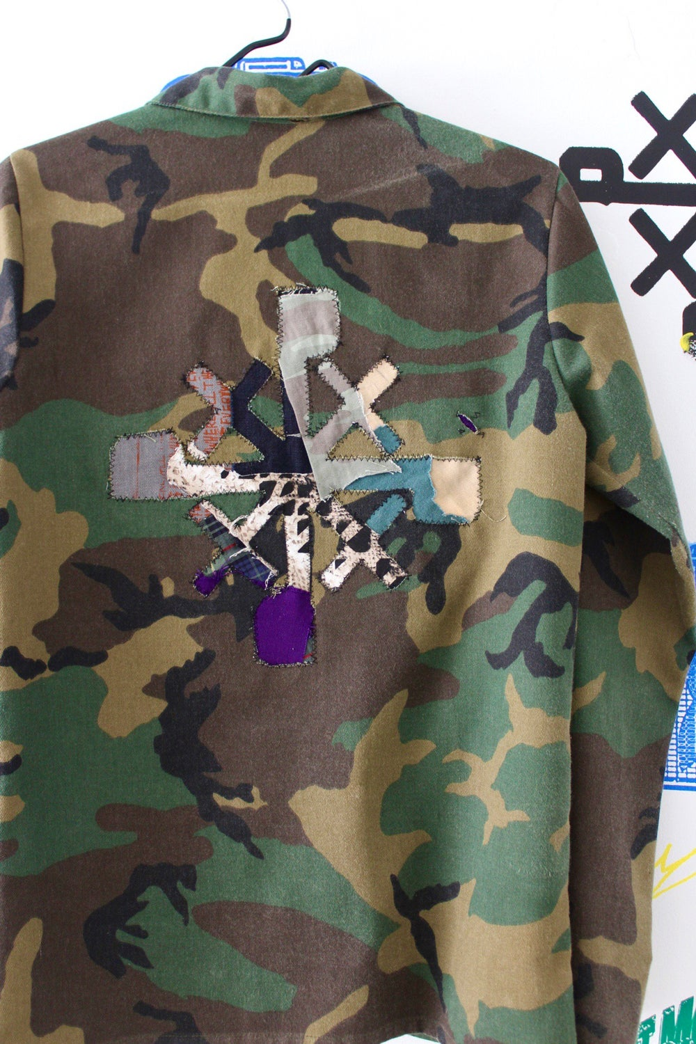 stick out stay down camo jacket