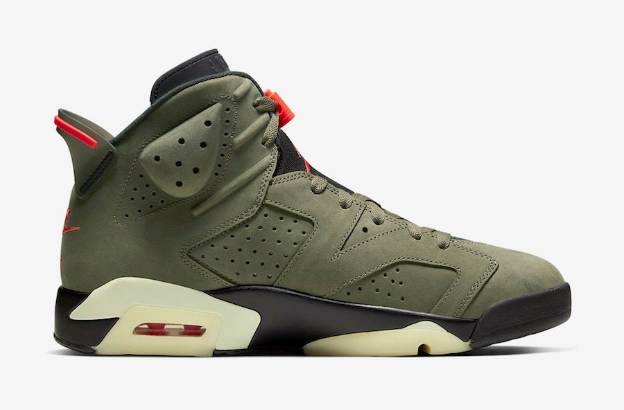 Image of Jordan 6 x Travis Scott