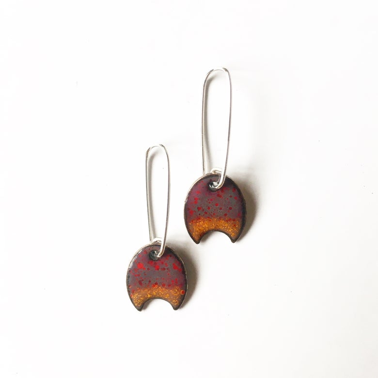 Image of crab claw earrings