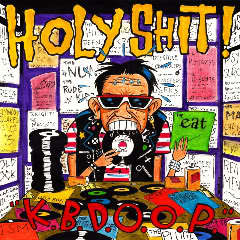 """Image of HOLY SHIT! Kbd oop 10"""" (Limited Edition Colored Vinyl)"""