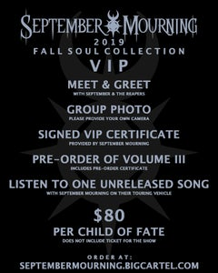 Image of 2019 Fall Soul Collections VIP