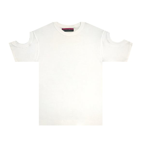 Image of Convertible Tee (White)