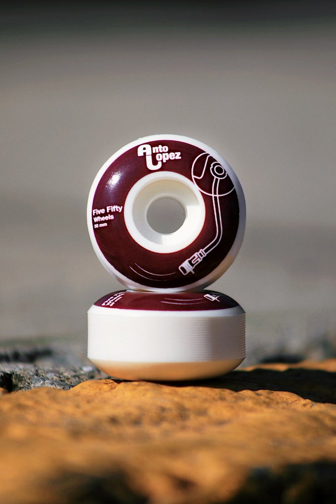 Image of Antony Lopez-Records. 50mm 100A wheel