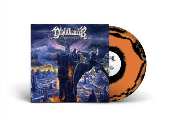 Image of Nightbearer • Tales of Sorcery and Death (Orange / Black Swirl Vinyl)