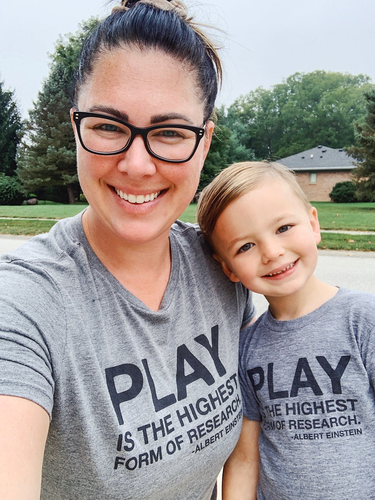 Image of PLAY IS THE HIGHEST FORM OF RESEARCH TEE (WOMEN'S)