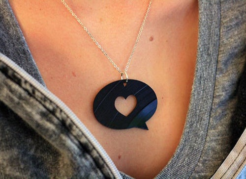 Image of Vinyl Necklace