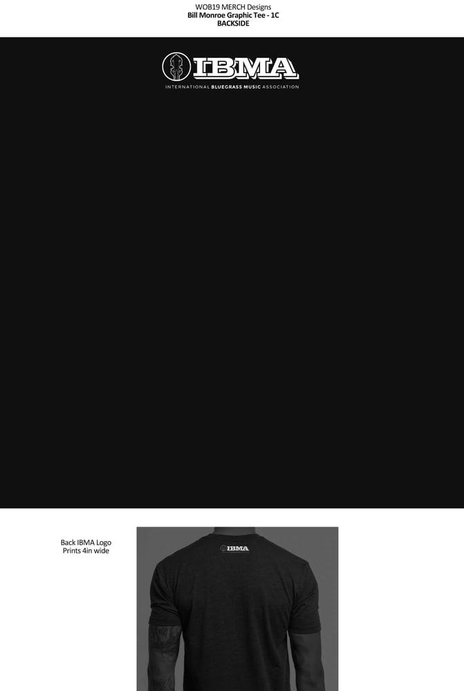 Image of Bill Monroe IBMA Shirts