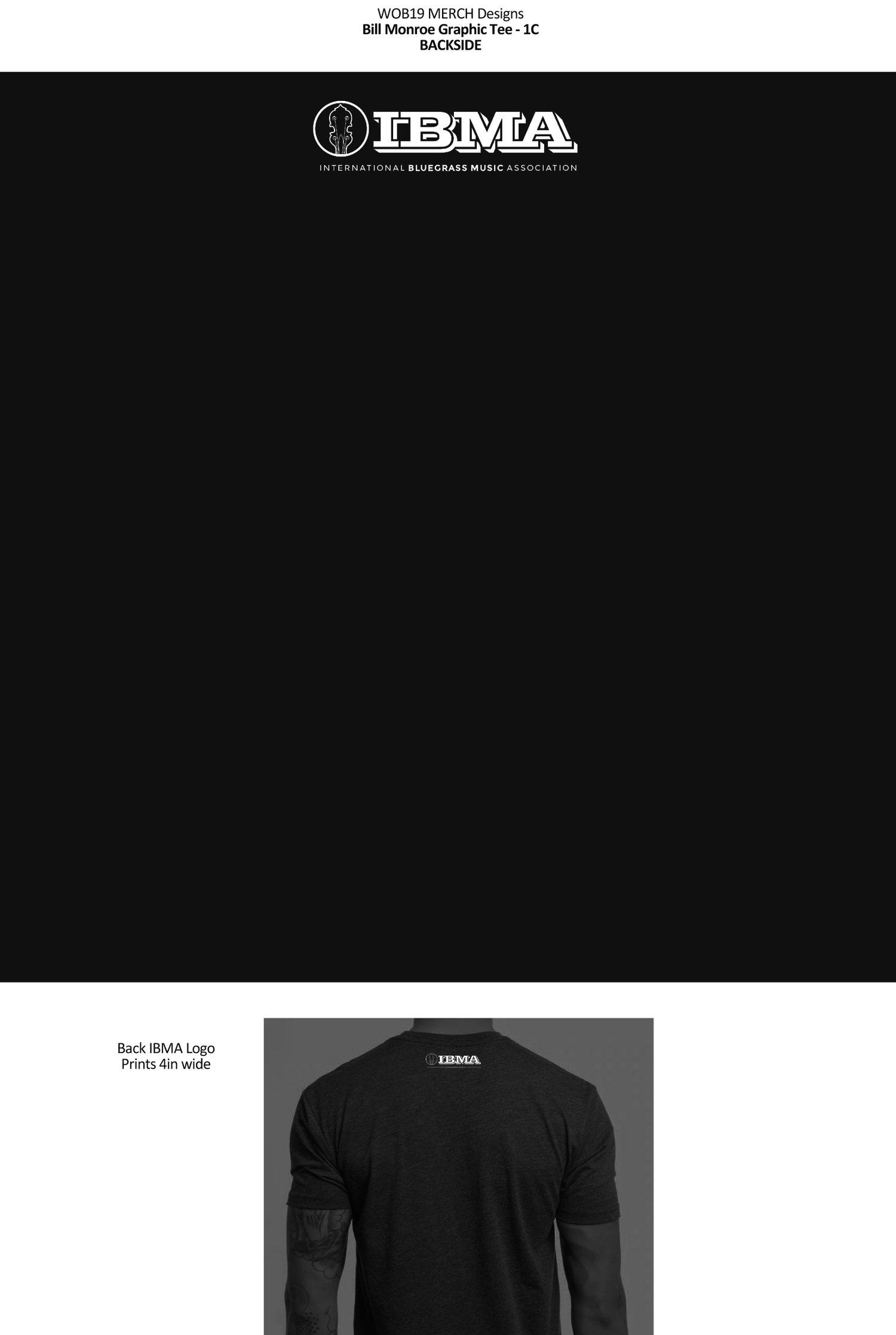 Image of Bill Monroe IBMA Ladies Shirts