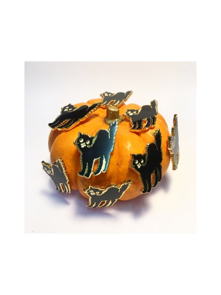 Image of Scaredy Cat Pin