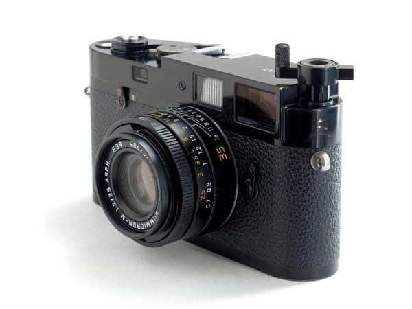 Image of SOOM Leica MP Film Rewind Lever M2 M3 MP MA - Black Paint