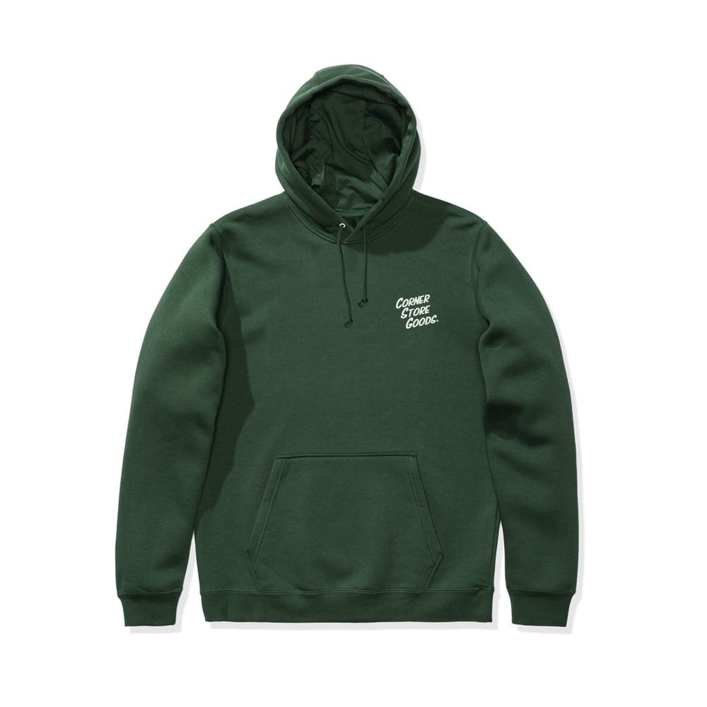 Image of Green Logo Hoodie
