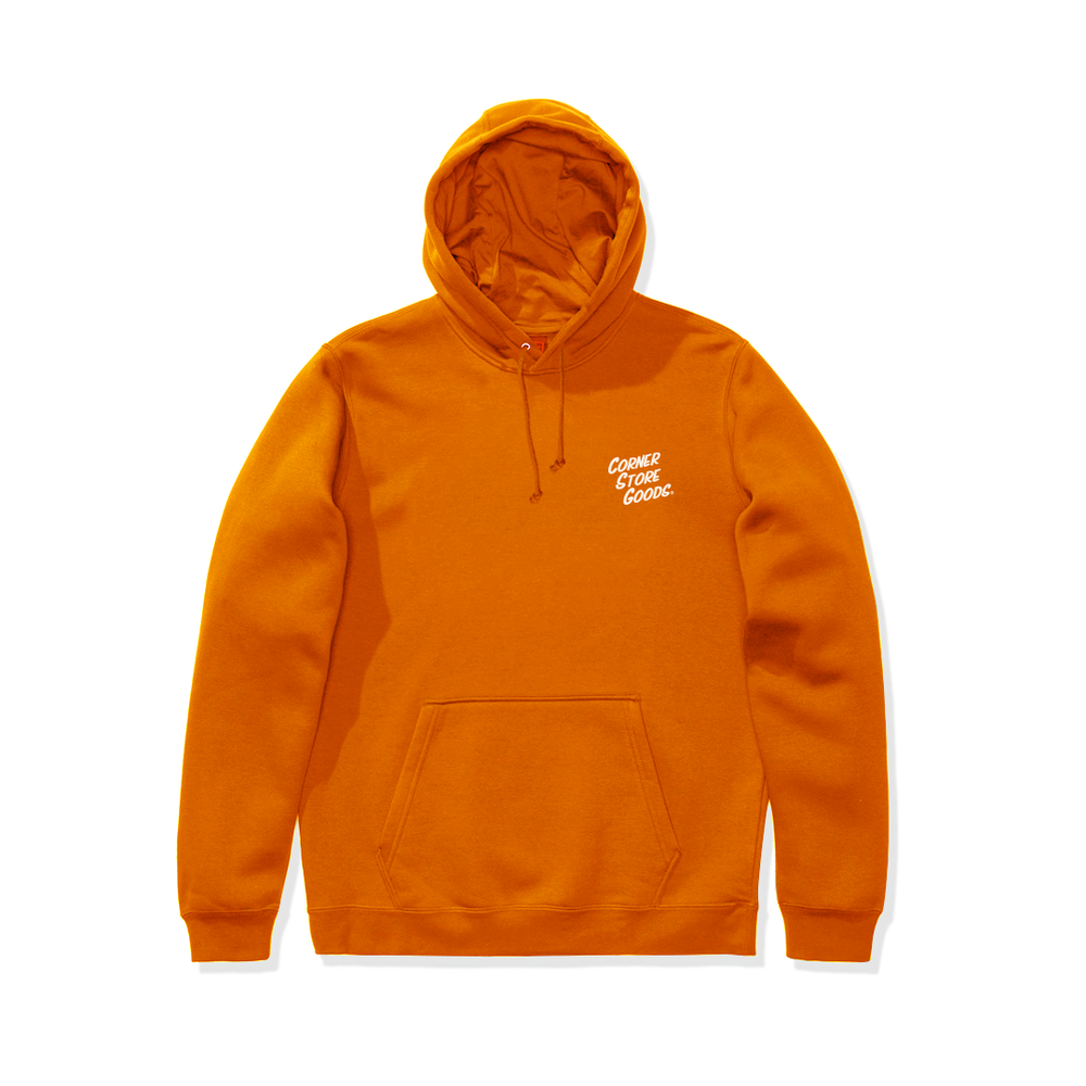 Image of Orange Logo Hoodie