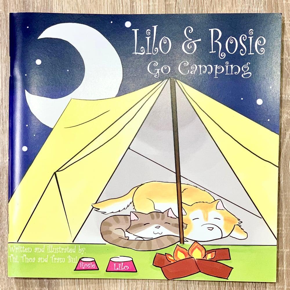 Image of Lilo & Rosie Go Camping- Children's Book