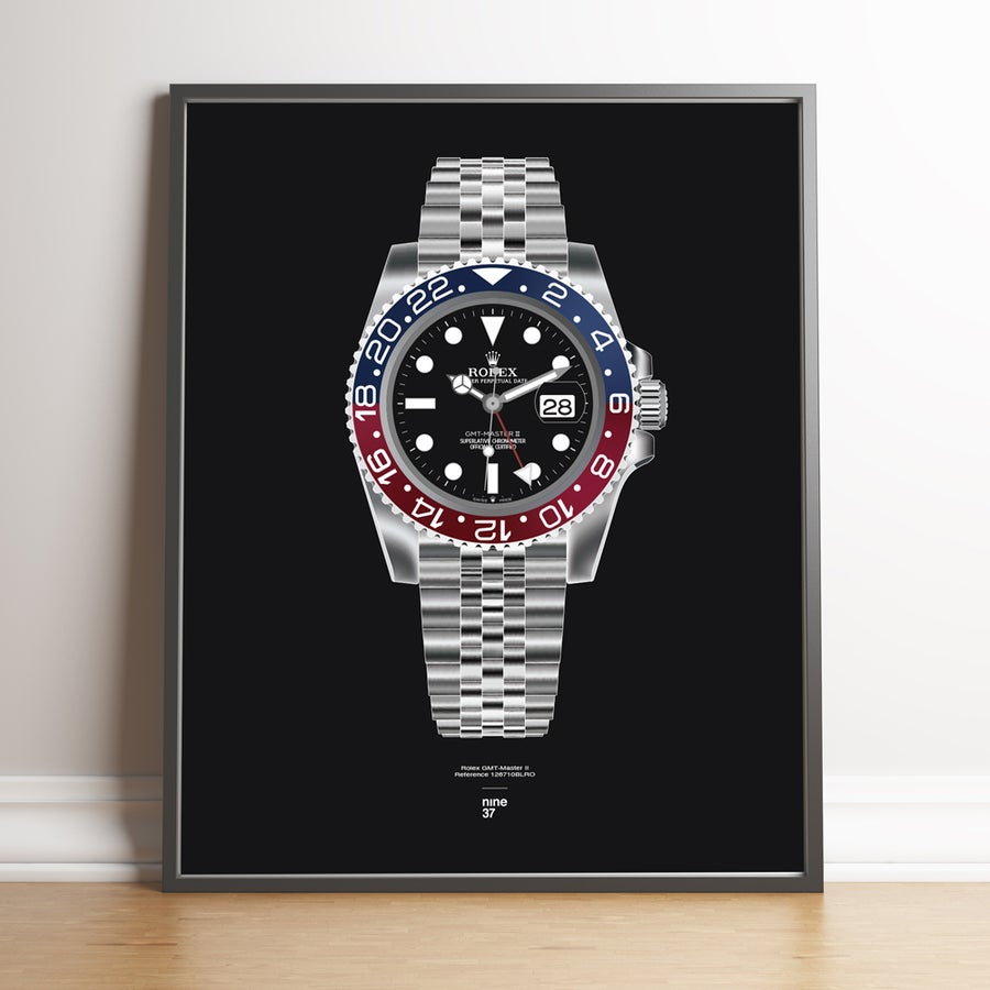 Image of Rolex GMT-Master II BLRO Bracelet Print