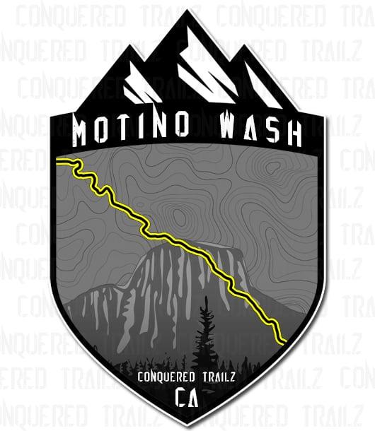 "Image of ""Motino Wash"" Trail Badge"
