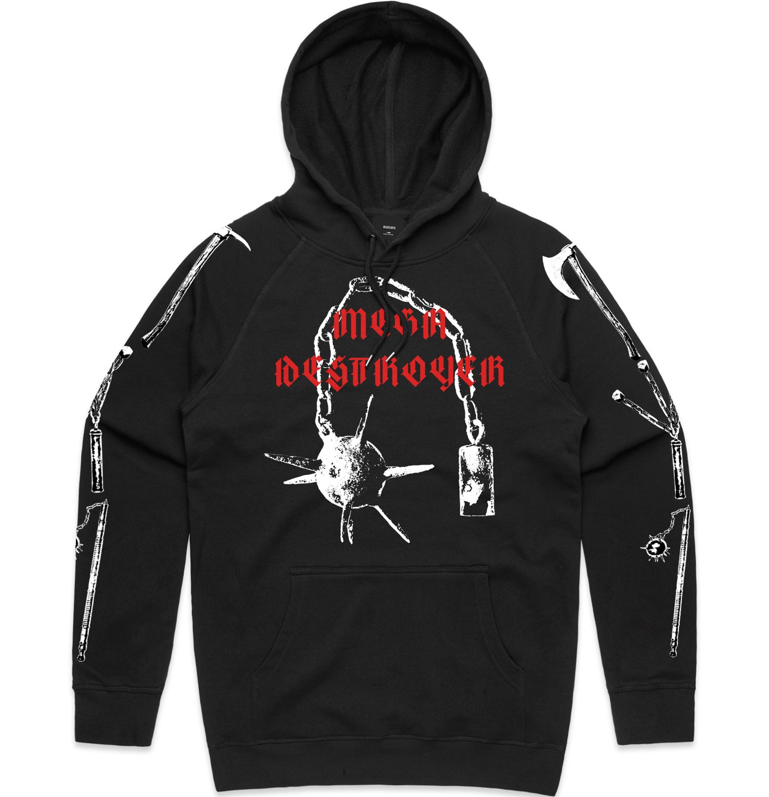 Image of WITCH WEAPONS (pullover hood)