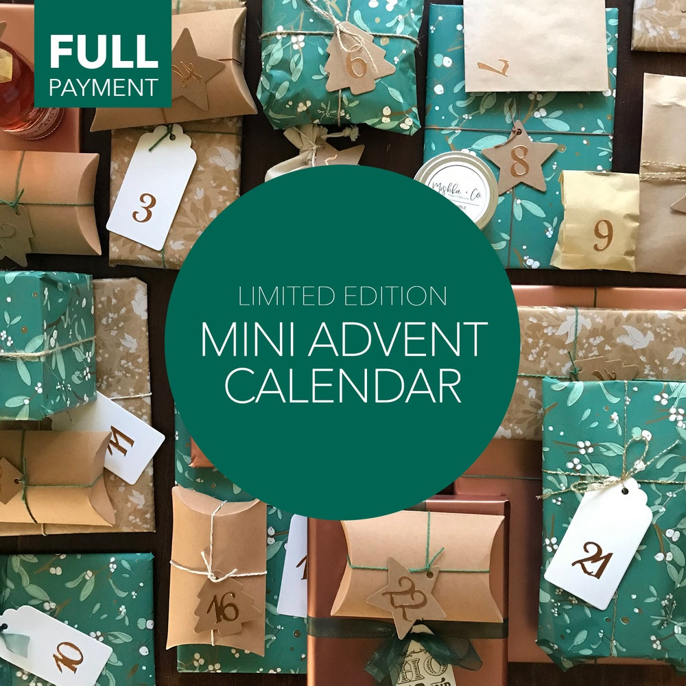 Image of MINI ADVENT CALENDAR + FREE SHIPPING (FULL PAYMENT)