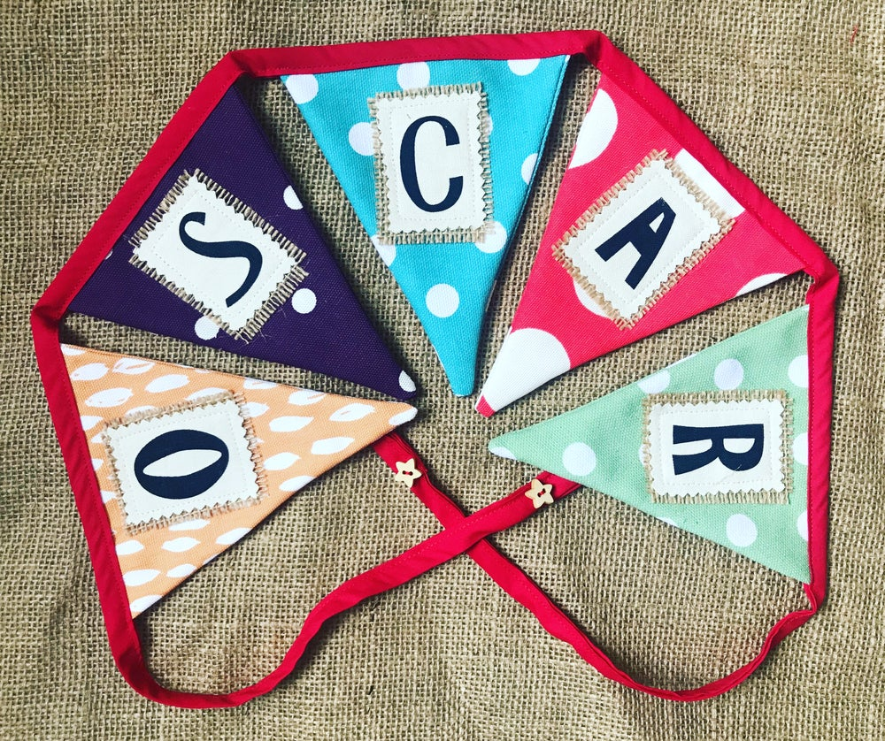 Image of Personalised bunting for all occasions