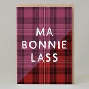 Image of Ma Bonnie Lassie Tartan (Card) TN026