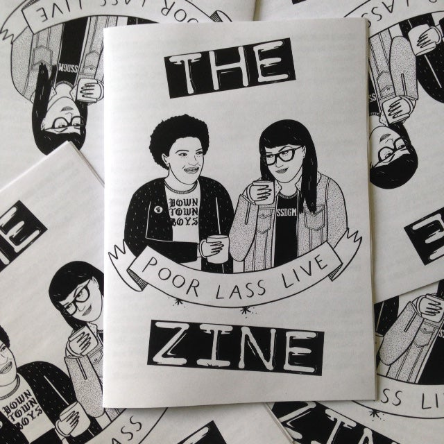 Image of Poor Lass Live The Zine