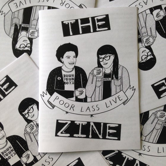Image of Poor Lass Live The Zine
