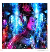 Image of 'Tokyo A.I.' - Limited edition print