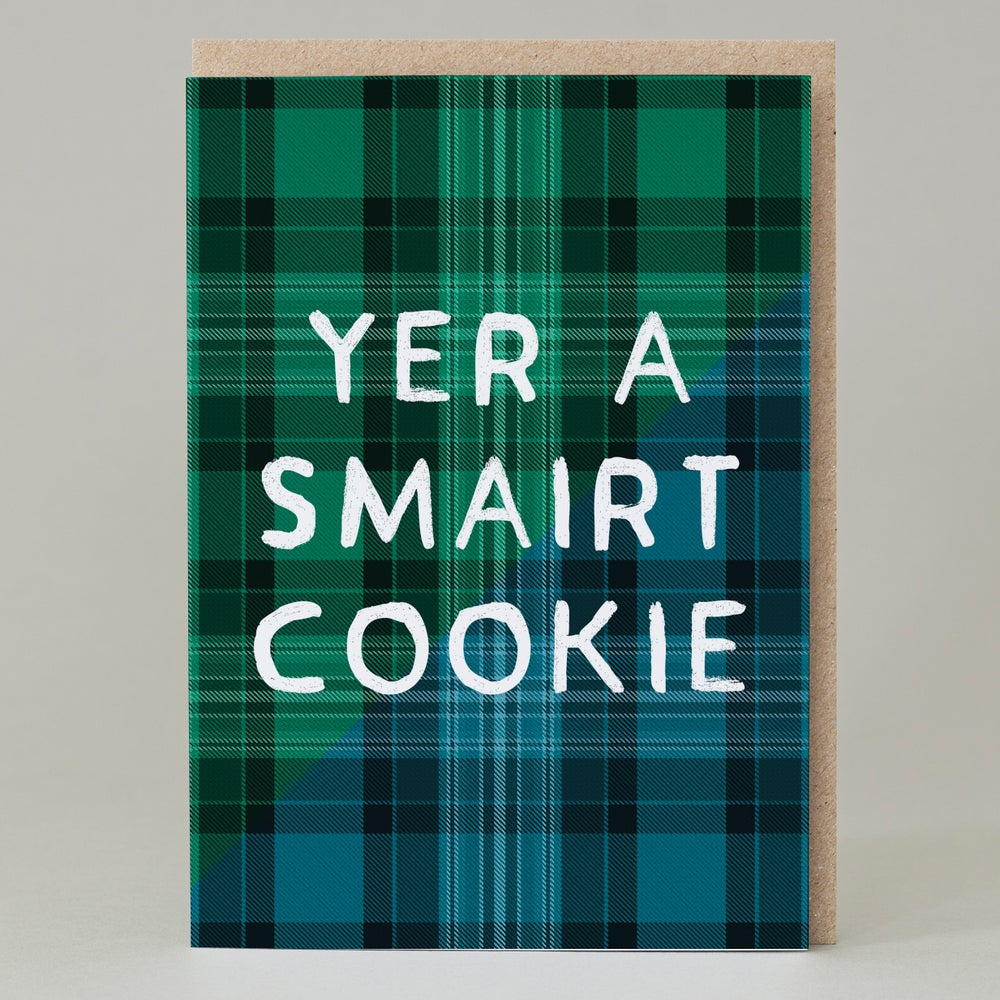 Image of Yer a smairt cookie (Card) TN025