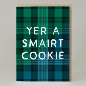 Image of Ma Bonnie Lad Tartan (Card) TN025