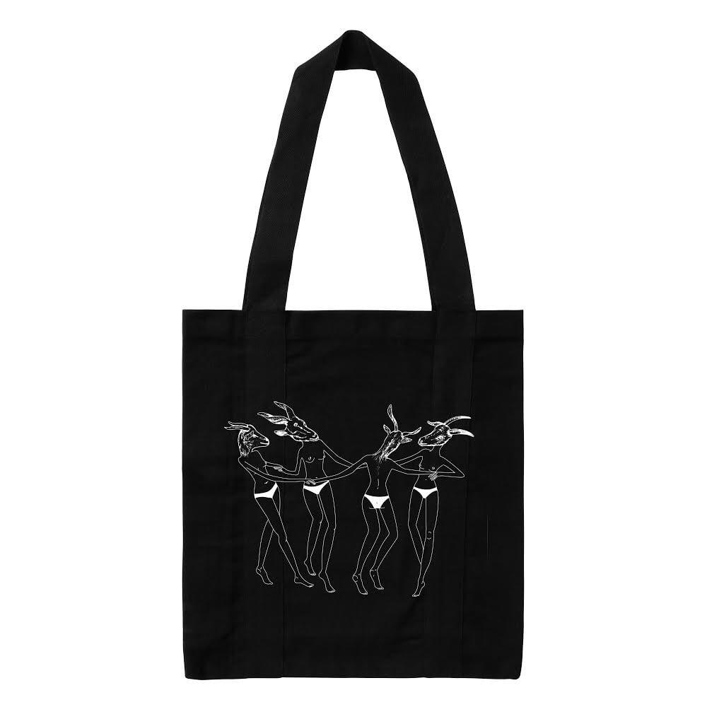 Image of Tote bag aquelarre negra