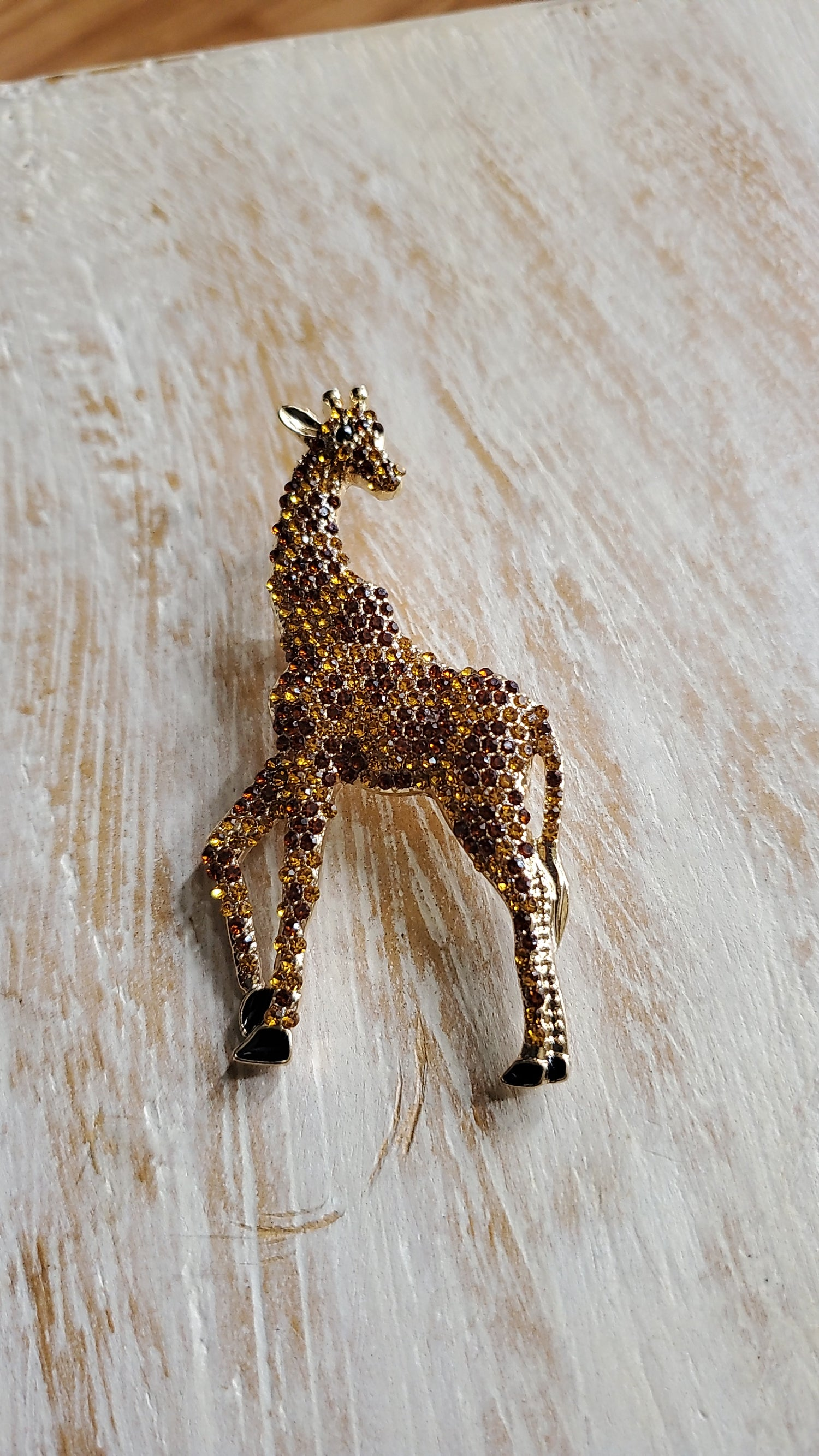 Image of LONG NECK LAPEL BROOCHE