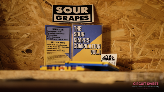 Image of CASSETTE STORE DAY 2019 RELEASE | THE SOUR GRAPES COMPILATION VOL. 1