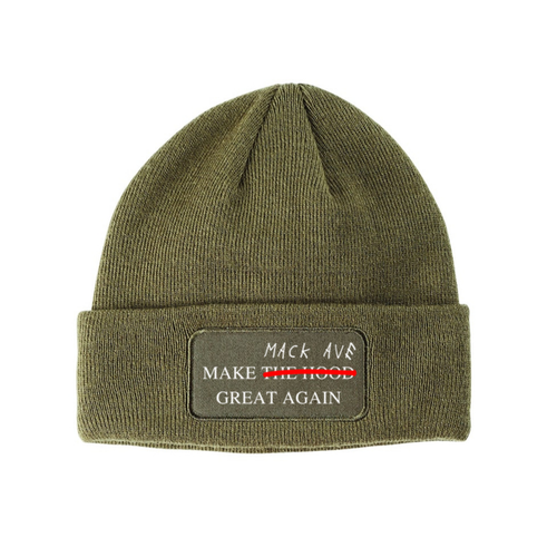 Image of Mack Ave Beanie (More Colors Available)