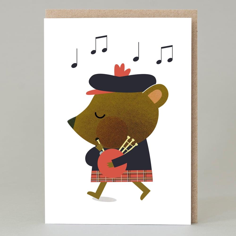Image of Piper bear (Card)