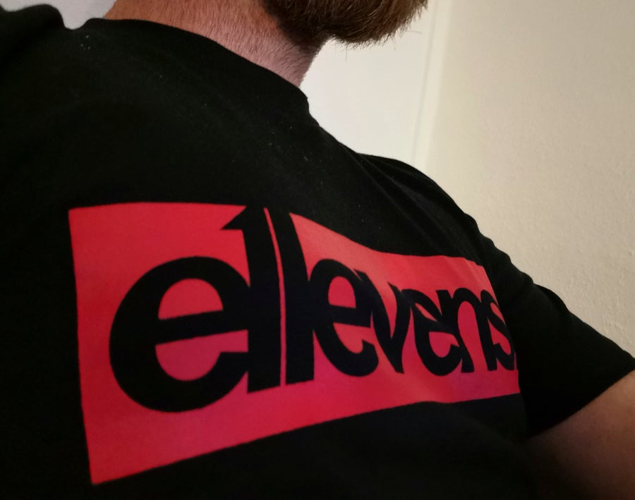 Image of E11evens - OG red block t-shirts