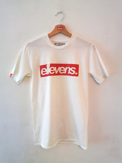 Image of E11evens - OG red block t-shirts