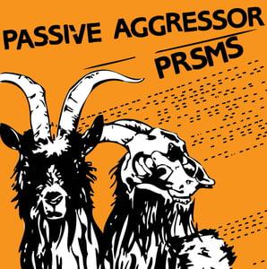 Image of PASSIVE AGGRESSOR/PRSMS SPLIT 7 INCH