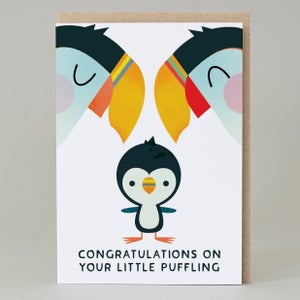 Image of Little Puffling (Card) PUFFIN005