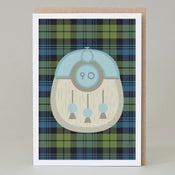 Image of 90th Birthday kilt card