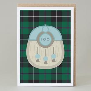 Image of 100th Birthday kilt card