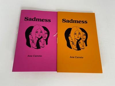 Image of Sadmess (3rd print)