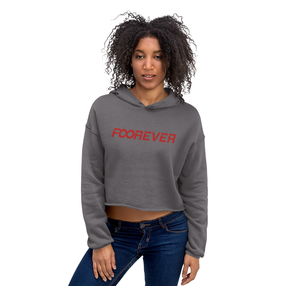 Image of Forever Women's Cropped Hoodie
