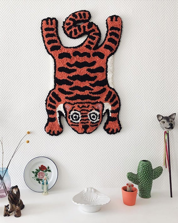 Image of Tiger rug