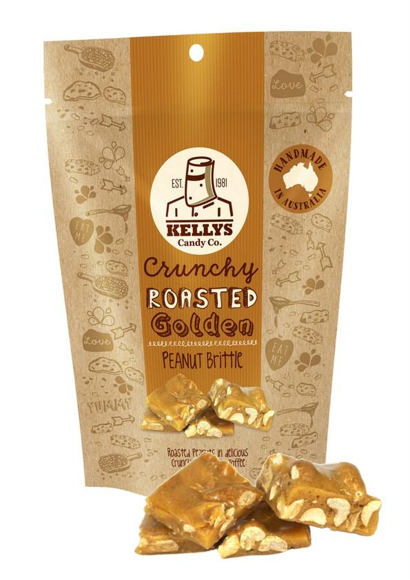 Image of PEANUT BRITTLE - POUCH 200G