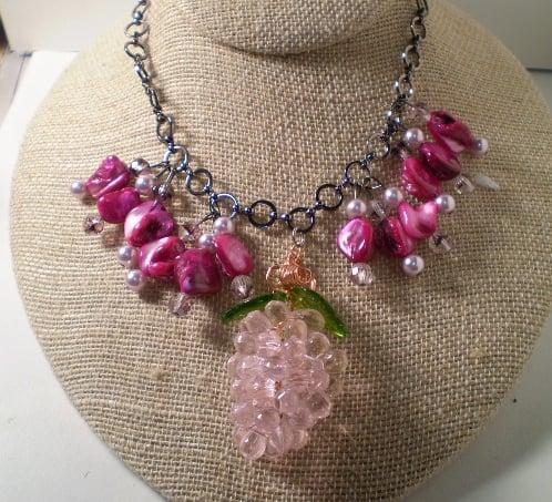 Image of Strawberry Pendant Necklace