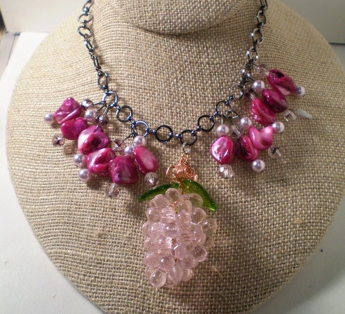Image of Strawberry Pendant Necklace