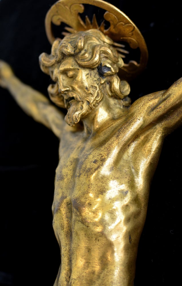 Image of An Important Gilt bronze corpus, ca. 1600, Italian