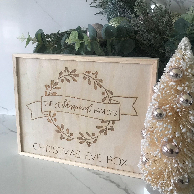 Image of Wreath Christmas Eve Box